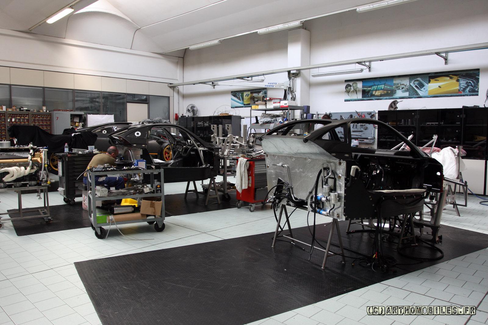 Pagani factory tour - Teamsd.com