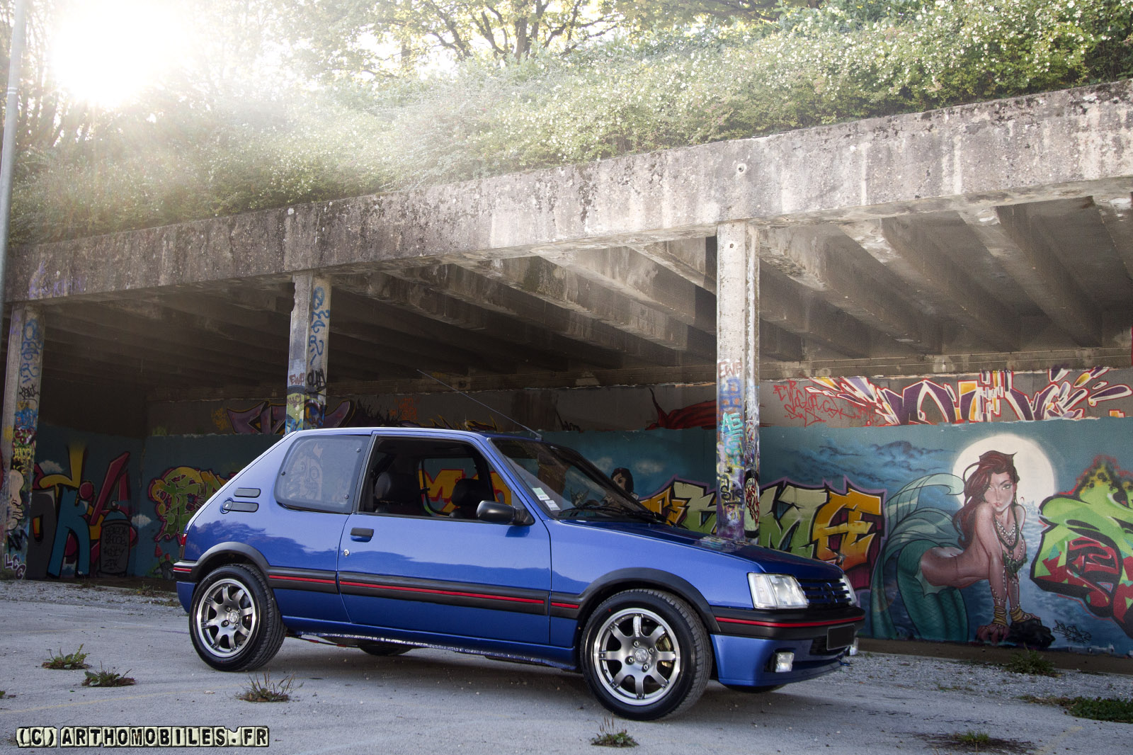 1986 1994 peugeot 205 gti 1 9 dark cars wallpapers. Black Bedroom Furniture Sets. Home Design Ideas